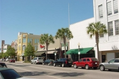 Store fronts downtown Ocala