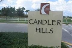 Sign Candler Hills
