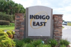 Indigo East sign