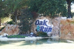 Oak Run entrance