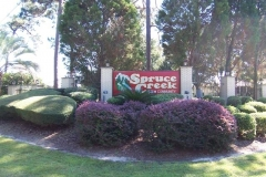 Spruce Creek North sign