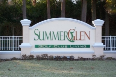 Summerglen sign