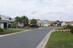 Street scene Candler Hills
